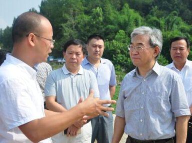 农业部副部长张桃林来湖南调研