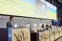 牛盾率团出席联合国粮农组织第40届大会