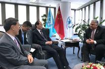 余欣荣会见世界粮食计划署副执行干事阿卜杜拉