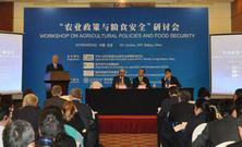 农业政策与粮食安全国际研讨会在京召开