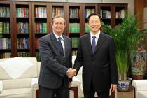 韩长赋会见古巴驻华大使拉米雷斯