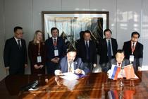 屈冬玉会见俄罗斯联邦农业部副部长涅波克罗诺夫