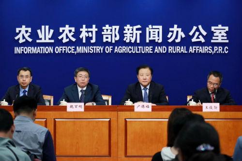 """一季度我国农业农村经济实现""""开门红"""""""