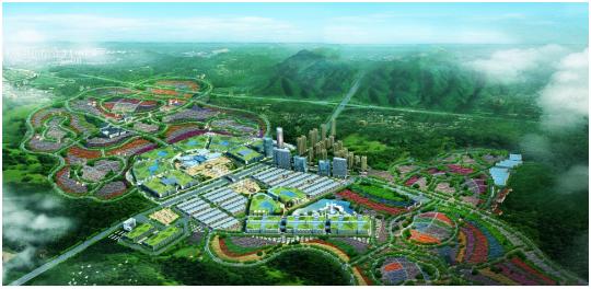 江南园林植物平面图